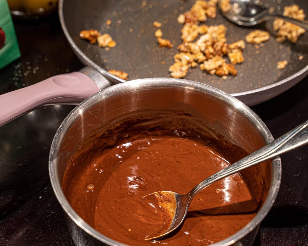 mintchokladsås