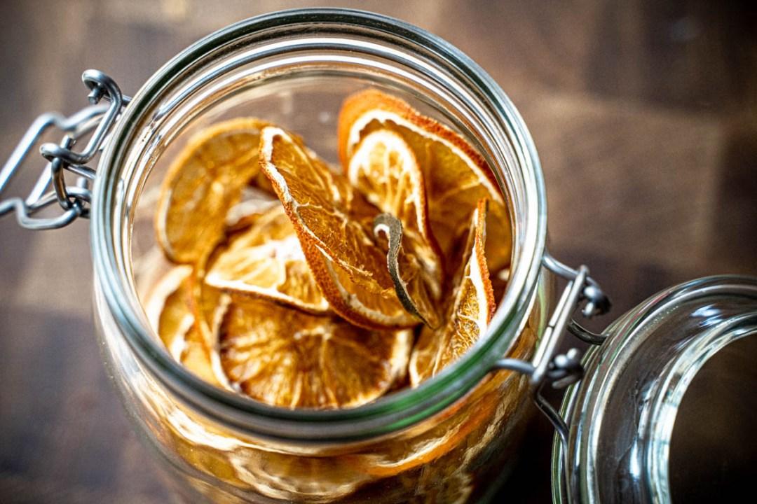 torkad citrus