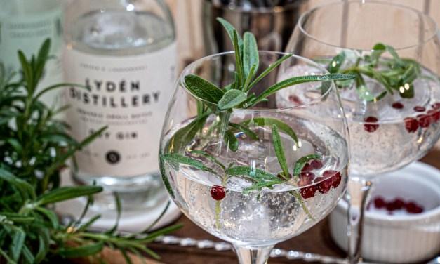 Gin och Tonic granskott och lingon