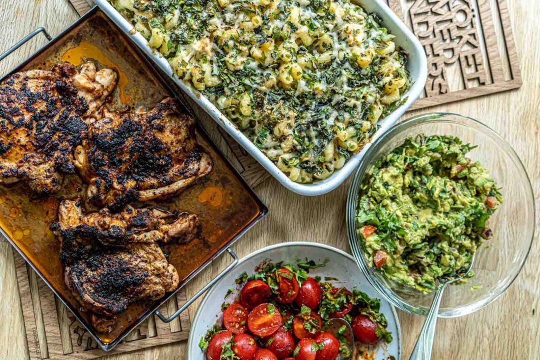 BBQ kyckling