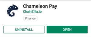 play store chameleon pay
