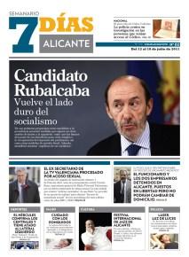 Cliente: Semanario 7 Días Alicante. Alicante, España