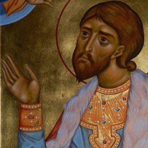 Saint Alexandre de Neva, détail
