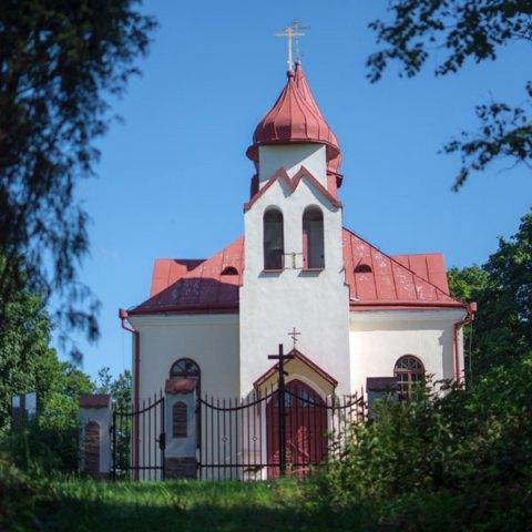 L'église de l'Exaltation de la Croix, Kuznica Bialostocka, Pologne (2011-2012)