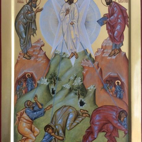 La Transfiguration du Seigneur, 29 cm x 40 cm