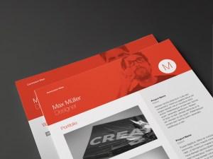 Neue Swiss Resume Portfolio Page