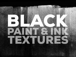 Black Ink Textures Background - www.ikono.me