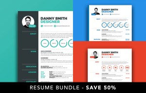 Special Offer to save 50% on Resume 1, 2, 3