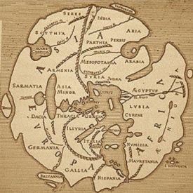 El primer mapa del mundo, inicios de la cartografía