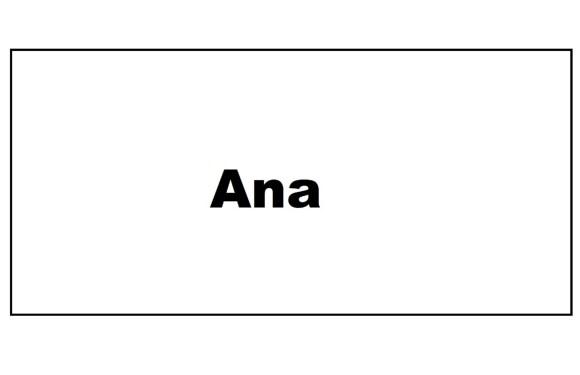 Origen del nombre Ana
