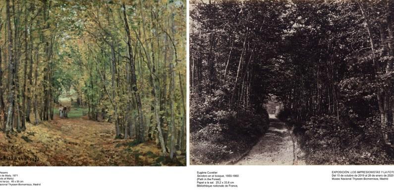 Los impresionistas y la fotografía, exposición que aún puedes ver en el Thyssen