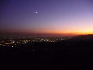 Les couleurs du coucher de soleil