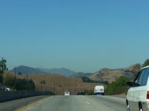 La traversée de colines de L.A