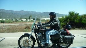 Un motard, un vrai