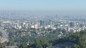 Panorama de LA depuis Muholland drive