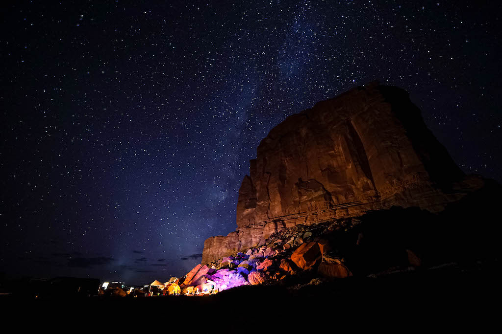 starry night Moab
