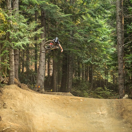 Dillon Lemar A Line at Tombstone Table Top in Whistler