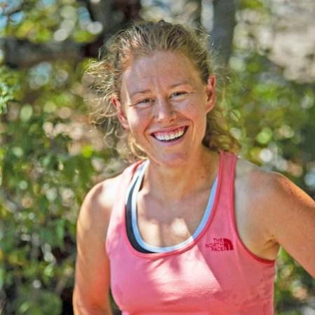 Endurance runner Hillary Allen