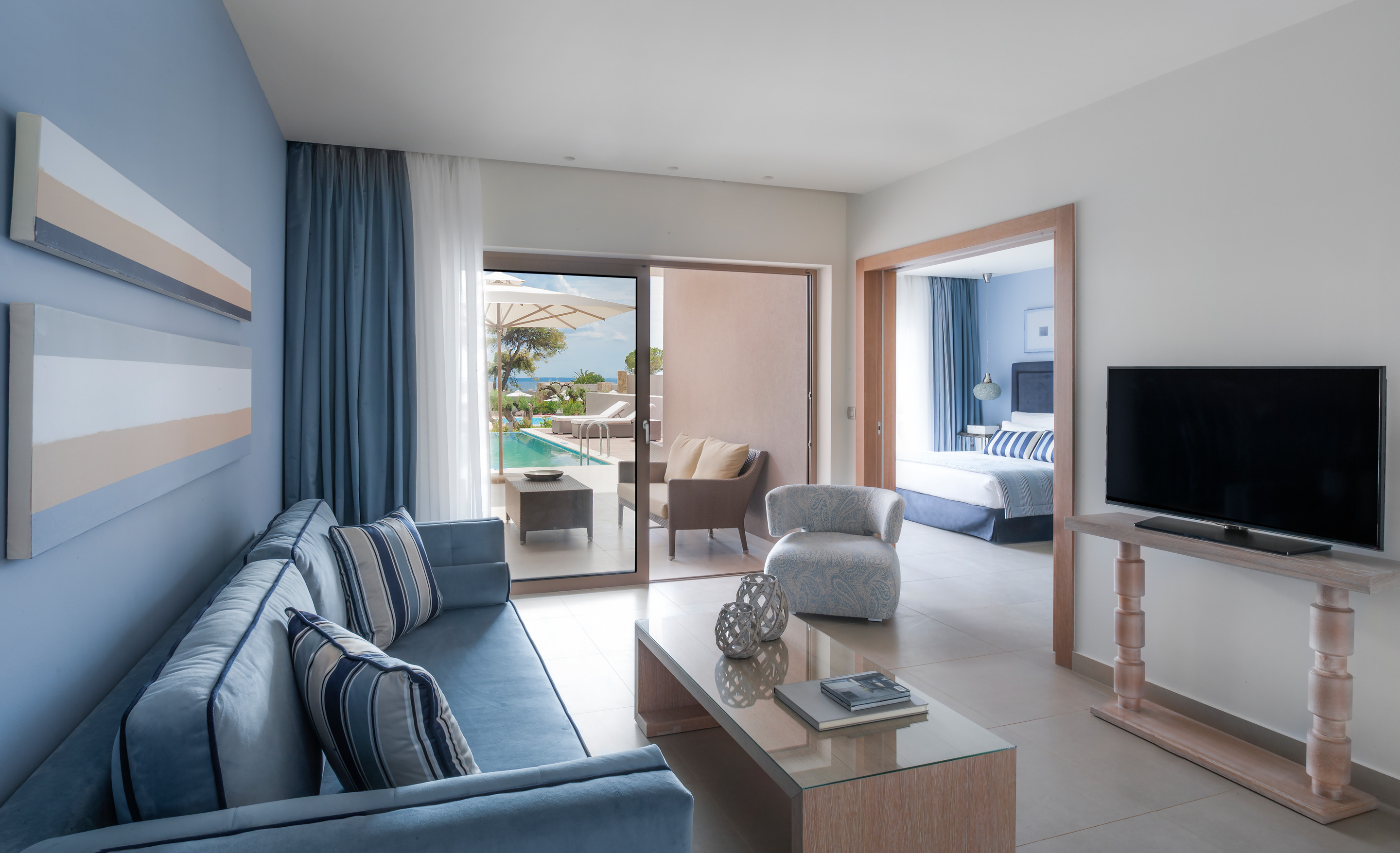 Deluxe One Bedroom Bungalow Suite With Private Pool Ikos