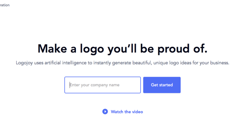 Create Logos Hassle Free with LogoJoy