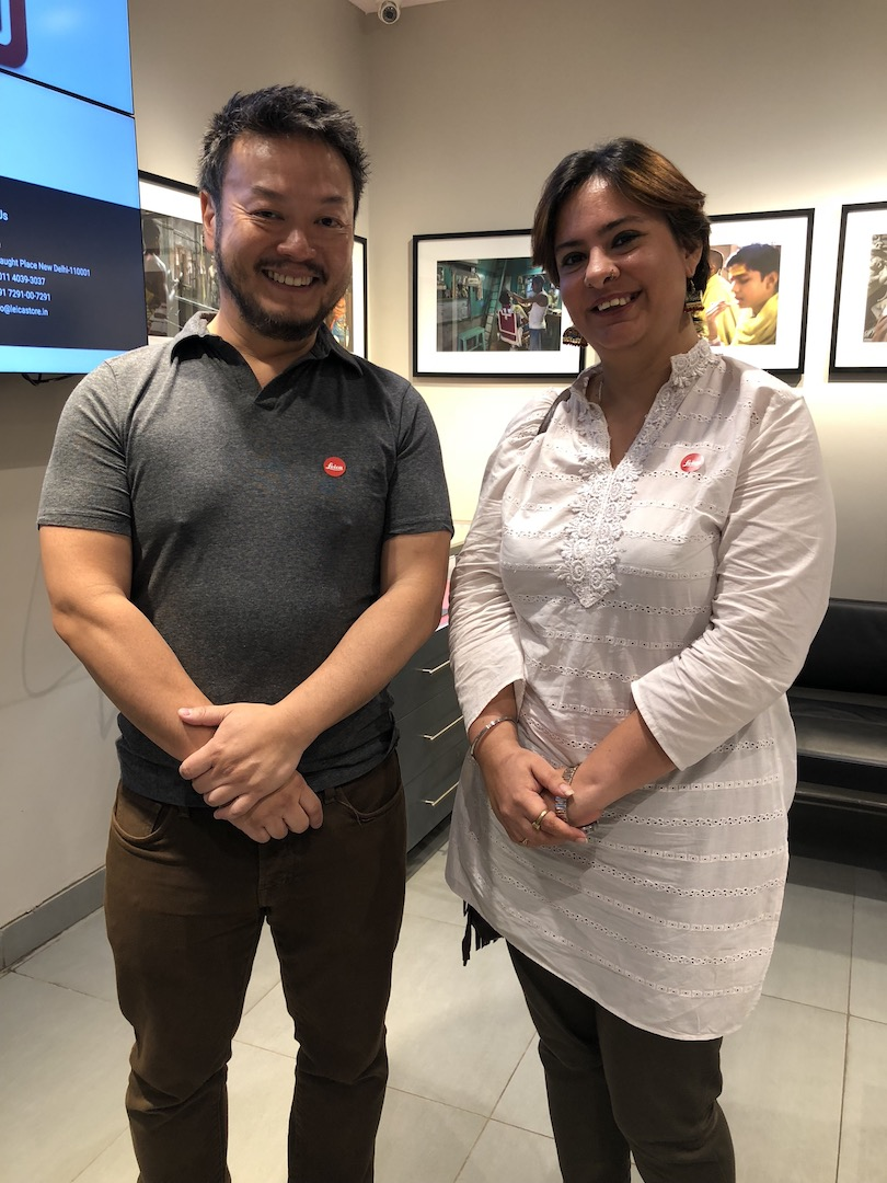 Leica hosted its third session of 'Coffee with Leica' , a photo talk by Canadian Diplomat, Roger Chen