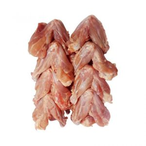 Chicken wings without skin