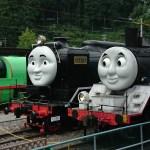 トーマスフェアの千頭駅を観光