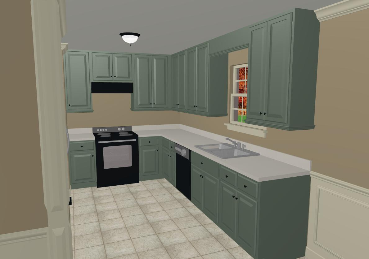 cool kitchen cabinet colors 2015