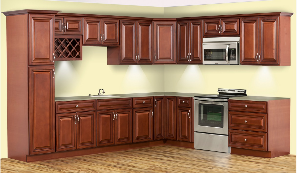 Awesome ready to assemble cabinets 2015 for Average depth of kitchen cabinets