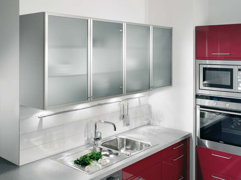 Nice wall kitchen cabinets 2015 for Glass kitchen wall units