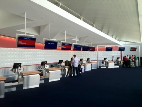 Aparte Skypriority check-in bij Delta op JFK