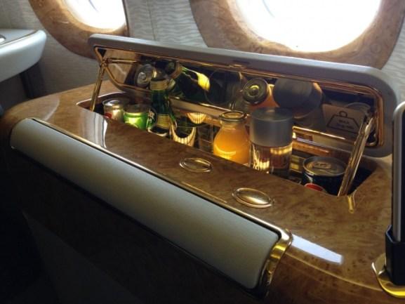 Emirates Suites - minibar