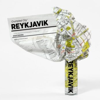 Crumpled-City-Map-Reykjavik