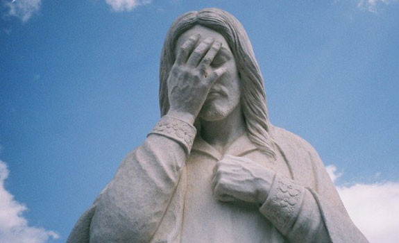 De tranen van jezus