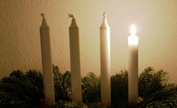 advent kaarsen
