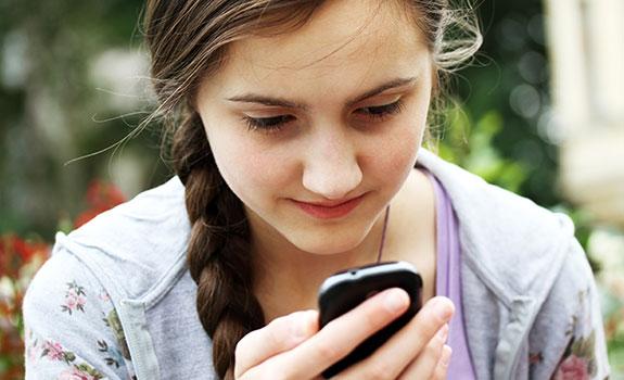 Berichtje sturen op mobiel