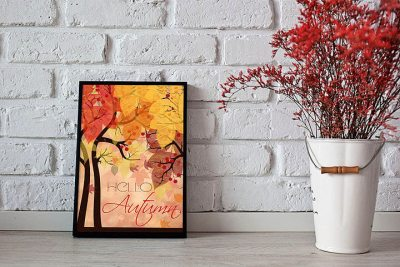 art-poster-autumn-feeling