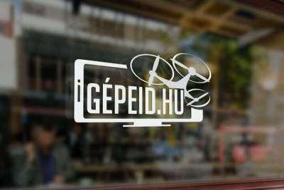 Arculattervezés logo Gépeid.hu szerviz webáruház