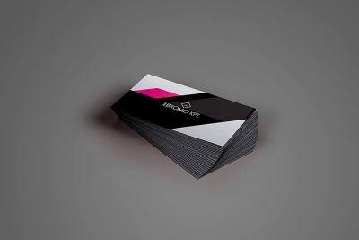 Névkegykártya tervezés - névjegykártya hátoldal