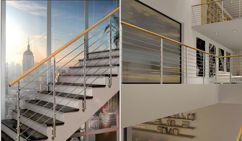 La parete di una scala può diventare elemento di design se verniciata: Ringhiera Per Scale Interne Guida Alle Migliori Con Classifica E Prezzi