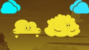 סוגי העננים העיקריים.