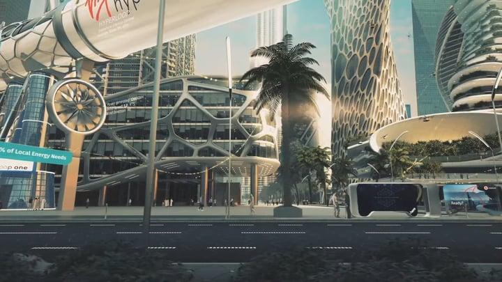 עיר העתיד מבוססת על בינה מלאכותית.