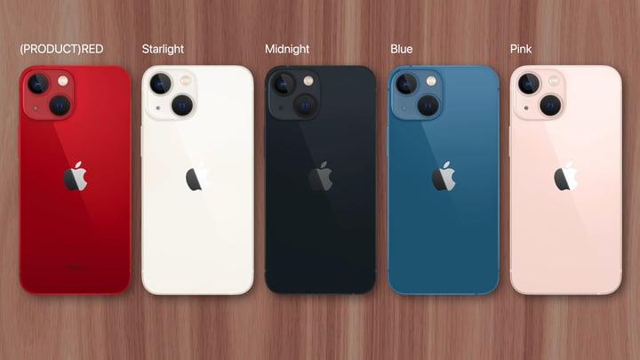 סקירת אייפון 13 (iPhone 13), עיצוב ומגוון צבעים.