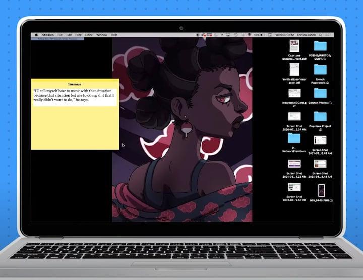 תמונה ראשית לכתבה בנושא של להעתיק ולהדביק במחשב מק Mac.