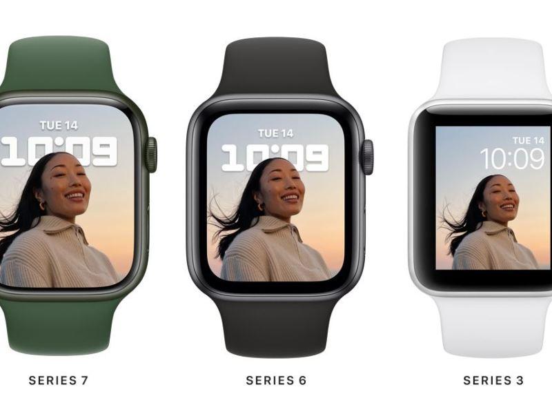 שעון חכם של אפל סדרה 7