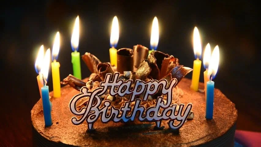 Happy Birthday Candles Stock Footage Video 3779867 Shutterstock