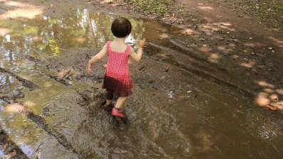 Image result for girl playing in mud