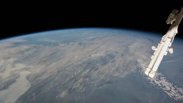 International Space Station View Of Earth From ISS, April ...