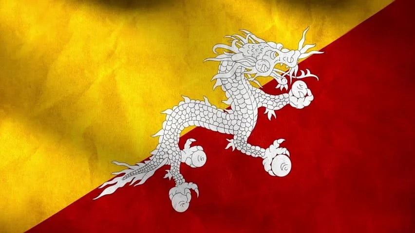 Image result for bhutan flag hd