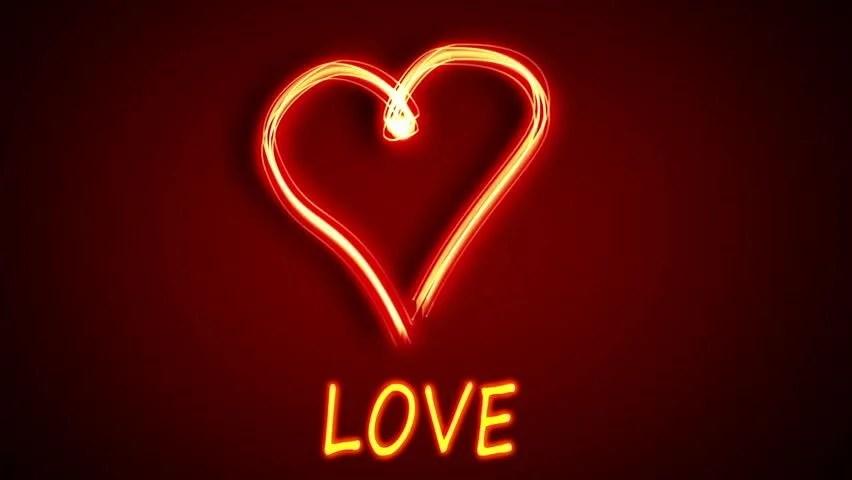 Heart Shape Footage Stock Clips